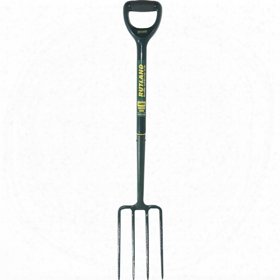 Rutland C/s Digging Fork Plastic Shaft