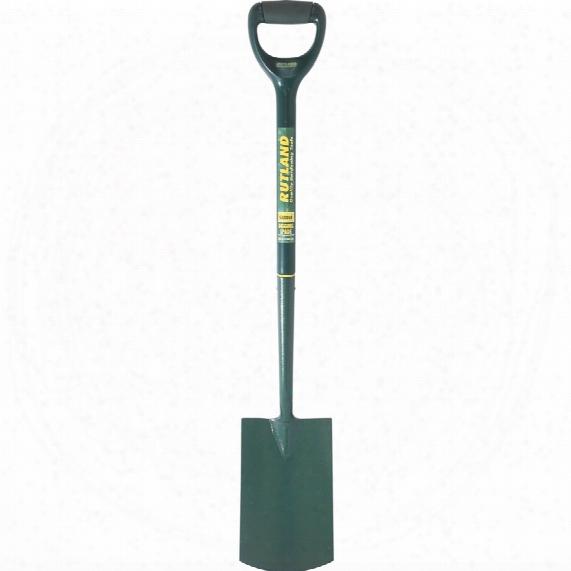 Rutland C/s Digging Spade Plastic Shaft