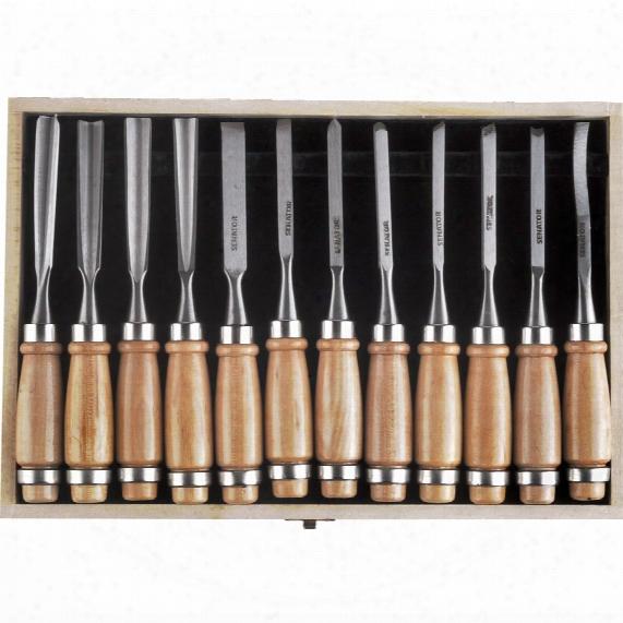 Senator 12-pce Wood Carving Tool Set