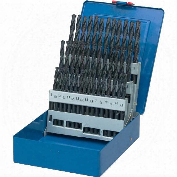 Senator 6-10mmx0.1mm Hss S/s R-f Drill Set