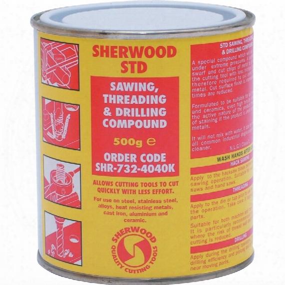Sherwood Std Tap & Drill Compound 500gm