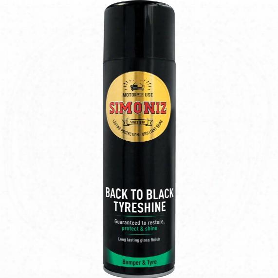 Simoniz Sapp0074a Back To Black Tyreshine 500ml