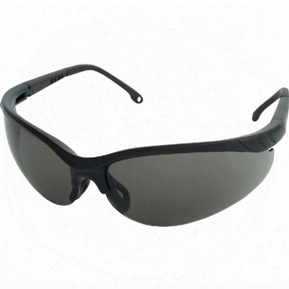Sitesafe Europa Black Specs Black Lens