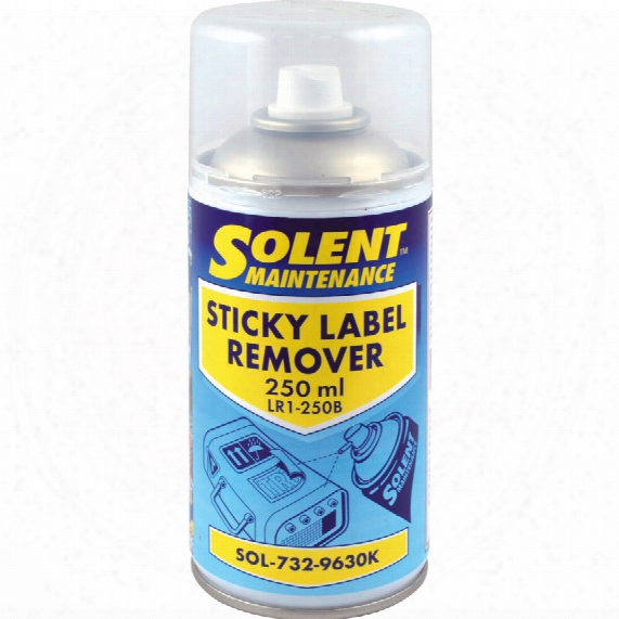 Solent Maintenance Label Remover 250ml