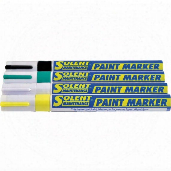 Solent Maintenance Paintmarker Bullet Tip White
