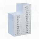 Matlock 10-Drawer Locking Multi-D Rawer Grey