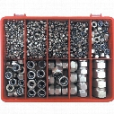 Qualfast Metric Nylon Insert Nut Kit A2 Avg-890Pc