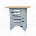 Senator 5-Drawer Cabinet & Workbench
