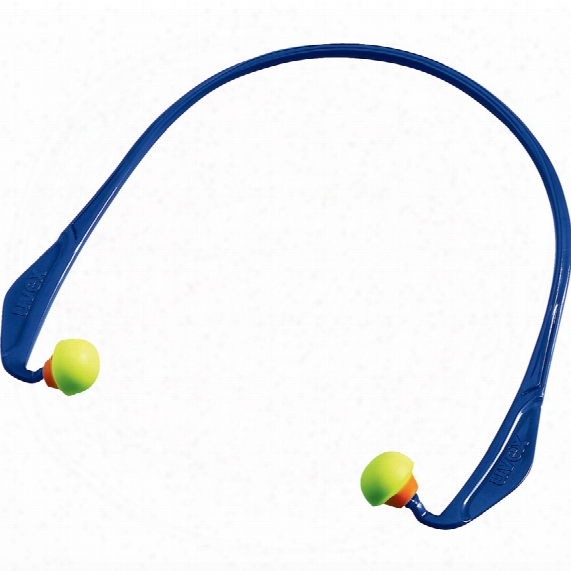 Uvex 2125341 X-cap Banded Earplugs (10-pr)