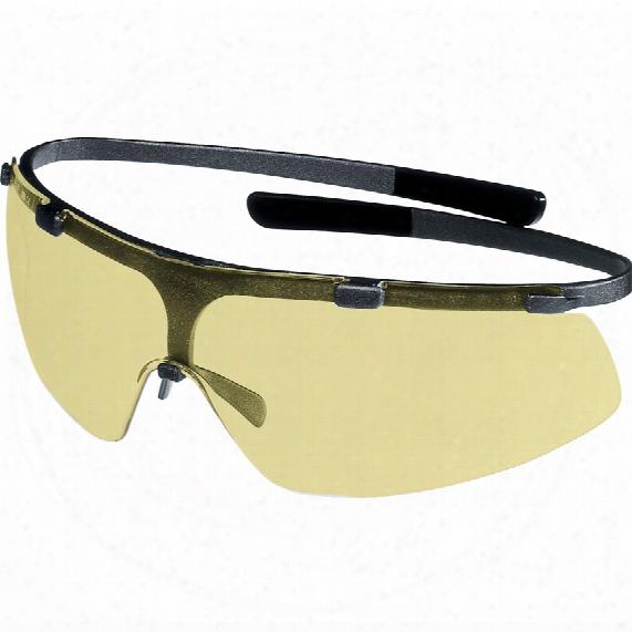 Uvex 9172-220 Super G Specs Titanium Frame Amber Lens