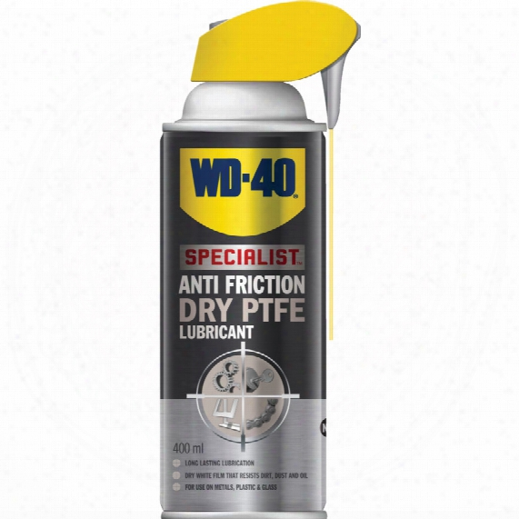 Wd-40 Specialist Anti Friction Dry Ptfe Lube 400ml