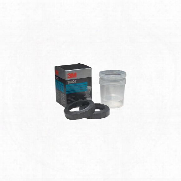 3m 16001 Pps Std Cups & Collars (pk-2)