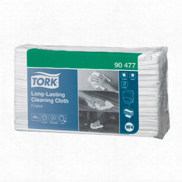 90477 Tork Long-lasting Cleaning Cloth (pk-5)
