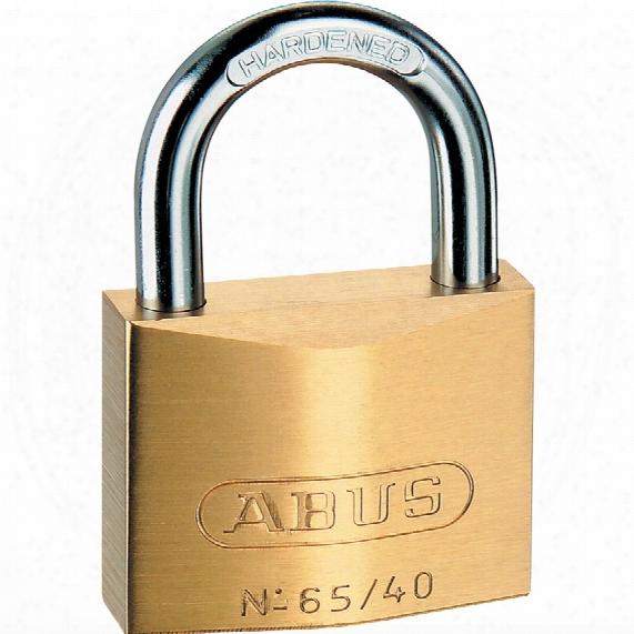 Abus 65/40c Brass Padlock