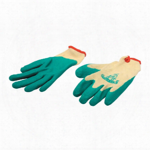 Beeswift Click Original Workwear Mp1 Multi-purpose Palm-side Coated Natural/green Gloves - Size 8