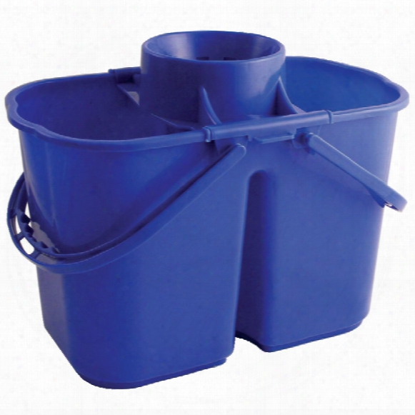Bentley Brushware Vz.dmb 15ltr Duo Mop Bucket Blue