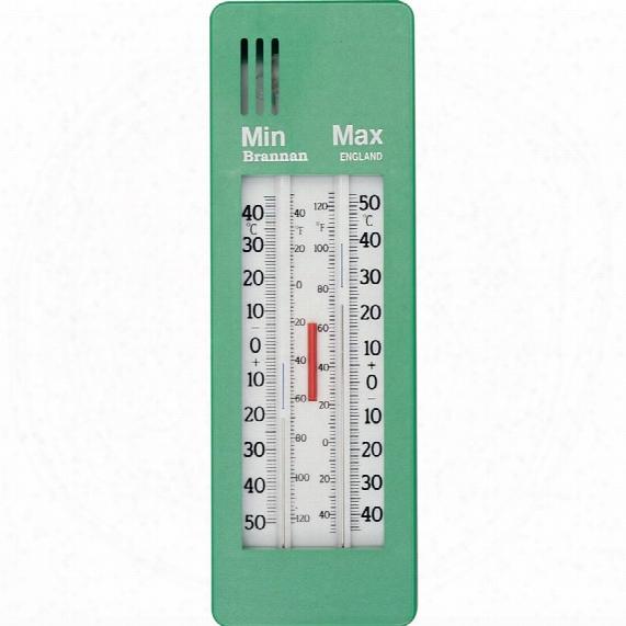 Brannan 12/404/3 Green Max-min Thermometer
