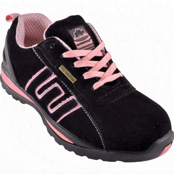 Gr86 Ladies Pink Safety Trainers - Size 3