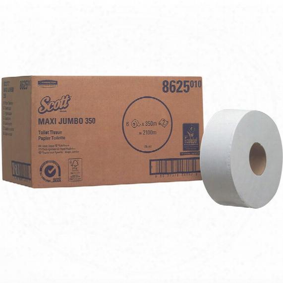 Kimberly Clark Professional 8625 Scott Maxi Jumbo Toilet Tissue 6-rolls