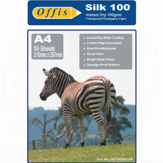 Offis A4 Photo Silk Paper 100gs M (pk-100)