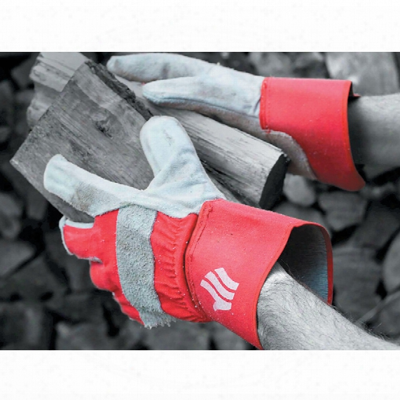 Polyco Lr158r/mns Chrome Leather Rigger Gloves