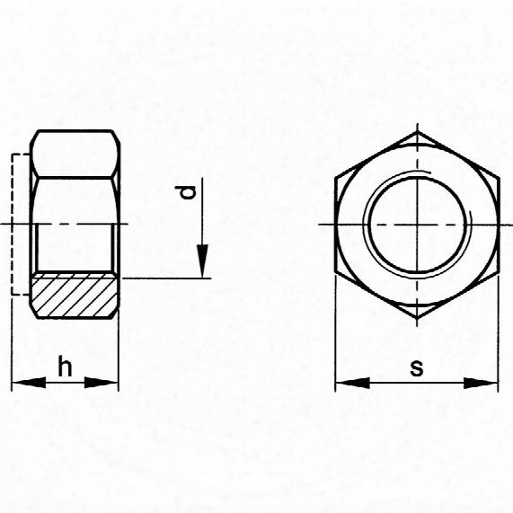 Qualfast M8 All-metal Locknut Bzp(10) - Pack Of 250