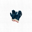 Ansell 27-805 Hycron Fully Coated Blue/White Gloves - Size 9