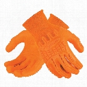 Ansell 97-321 Activarmr Hi-Vis Orange Impact Gloves - Size 9