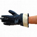 Marigold N660 Nitrotough Fully Coated Blue Gloves - Size 10