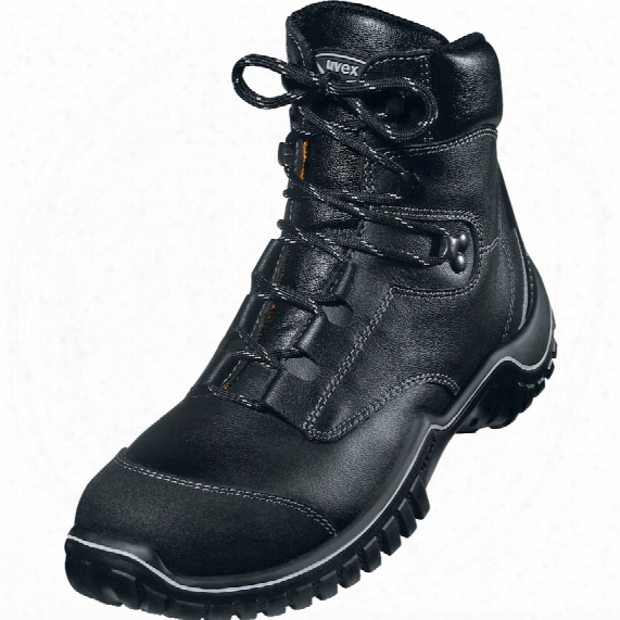 Uvex 6986/2 Motion Light Men's Black Safety Boots - Size 6