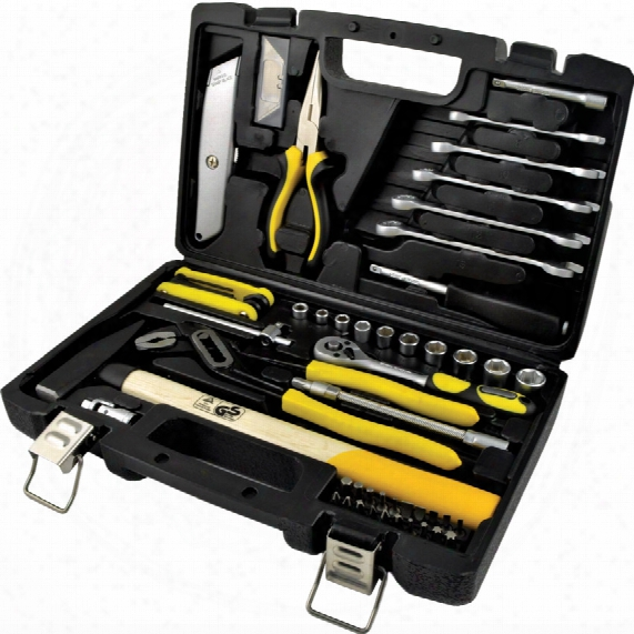 Workshop 61 Piece Basic Tool Kit In Blow Moulded Case