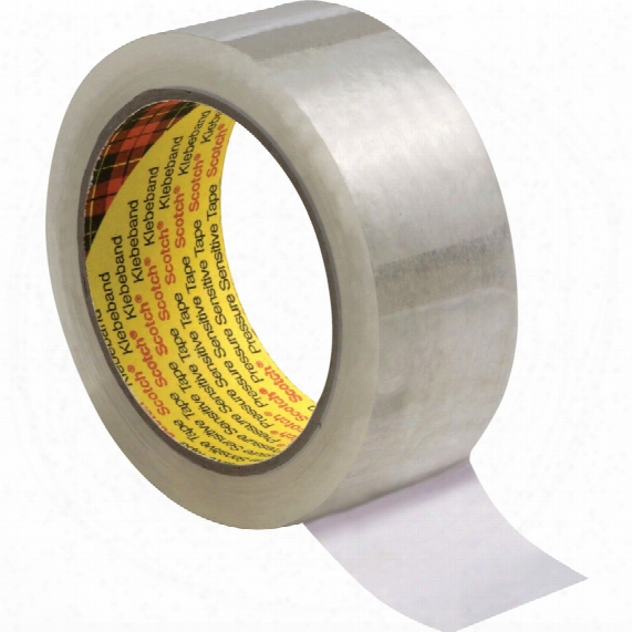 3m 309 Low Noise Poly. Sealing Tape Clear 75mmx66m