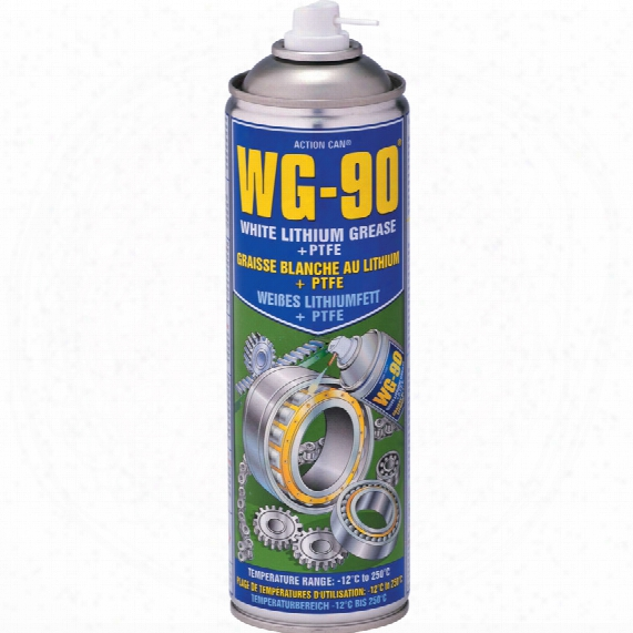 Action Can Wg90 White Grease With Pt Fe Aerosol 500ml