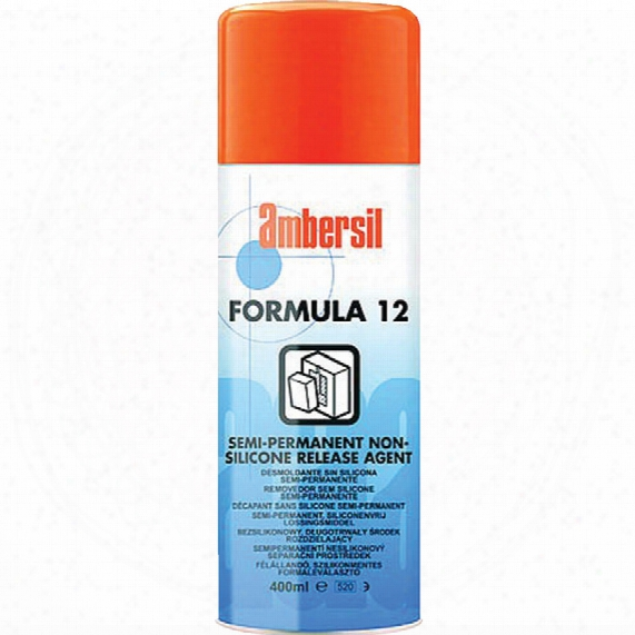 Ambersil Formula 12 N/sil Icon Release Agent 400ml