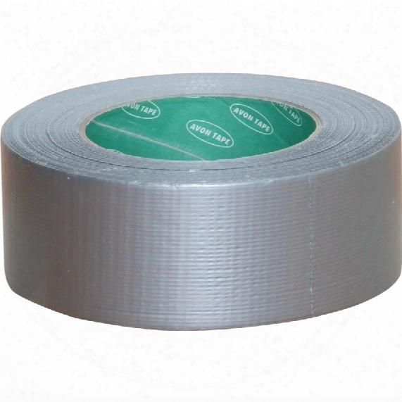 Avon 50mmx10m Silver Cloth Tape