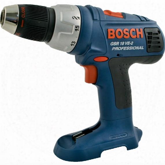 Bosch Gsr 18 Ve-2 18v Drill Driver Body Only