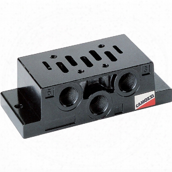 Camozzi 901-f1a Iso 1 Base Side Outlets