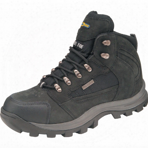 Eurotec Worktough 706sm Men's Black Safety Boots - Size 11
