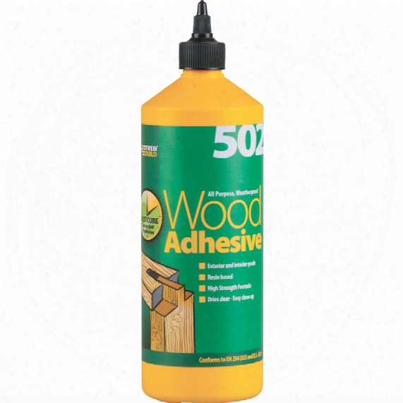Ever Build 502 All Purpose W/p Wood Adhesive 1ltr