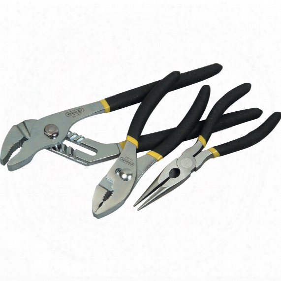 Stanley 3 Piece Plier Set