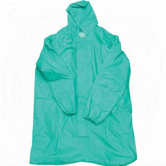 Streetwise Anti-splash Green Overalls - Medium