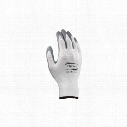 Ansell 11-800 Hyflex Palm-Side Coated White/Grey Gloves - Size 6