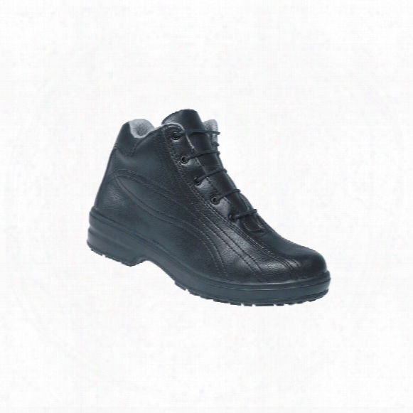 Toesavers 2504 Microsafe Ladies Black Safety Boots - Size 7