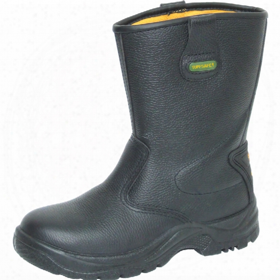 Tuffsafe Rigger Boot S3 Lined W/resist Black Rat07 Sz.7