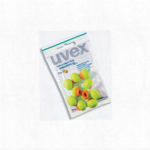 Uvex 2125351 X-cap Replacement Pods (5-pr)