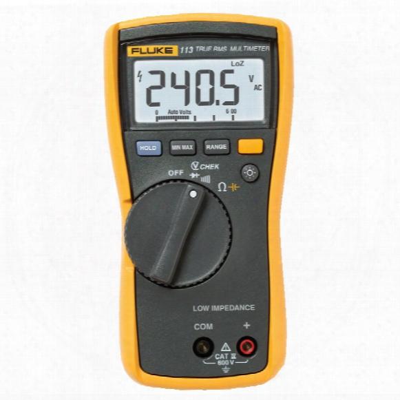 113 Fluke True Rms Multimeter