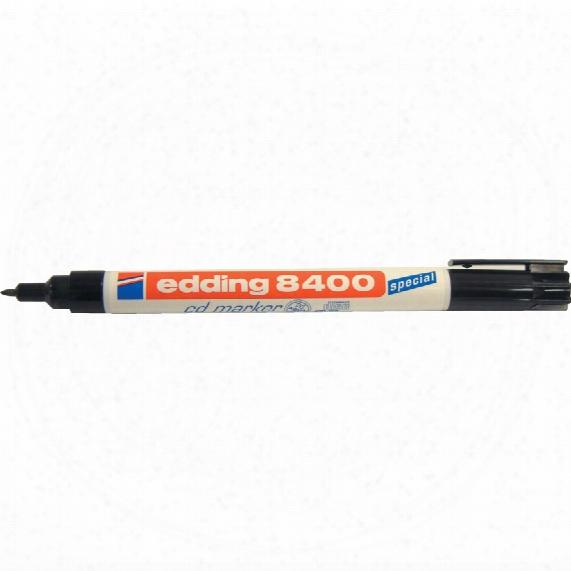 8400-001 Edding Cd Marker - Black