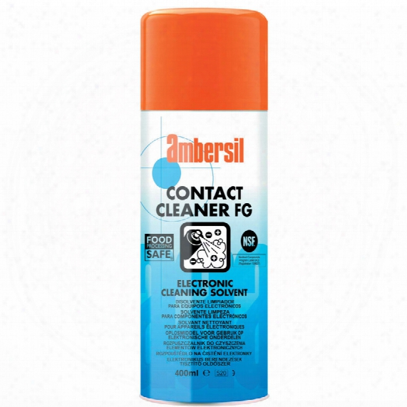 Ambersil Fg Contact Cleaner 400ml