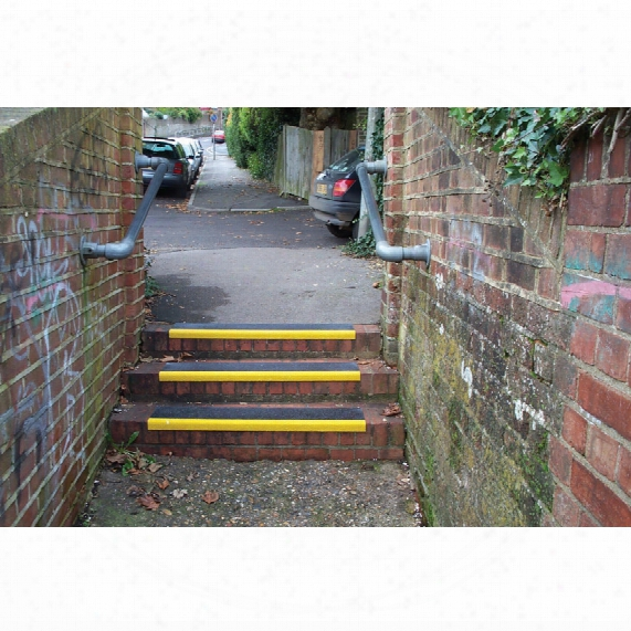 Anglo Anti-slip Step Cover 600x345mm Yellow