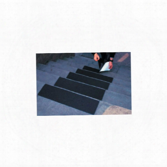 Anglo Anti-slip Treads Black 610x150mm (pk-10)